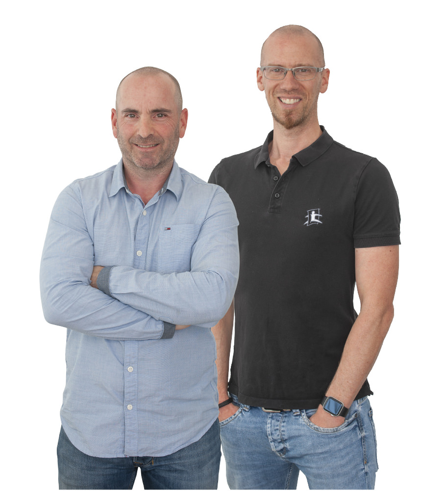 Pietro Colato und Markus Bast